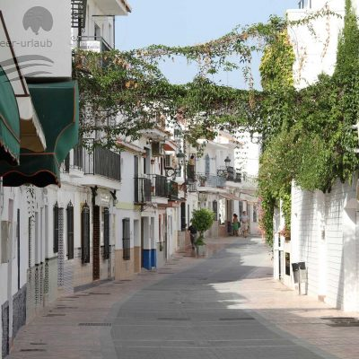 Old town part of Nerja