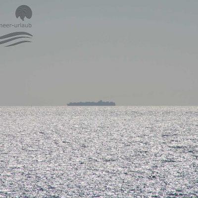 Nerja - big ships...