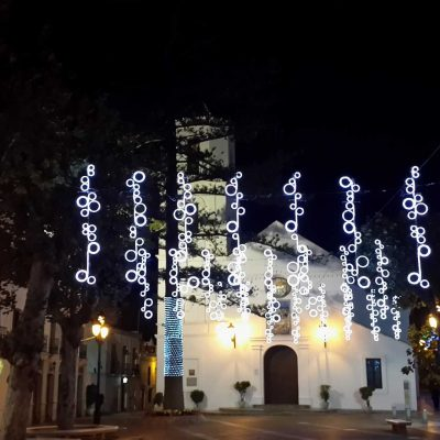 Christmas - Nerja by night