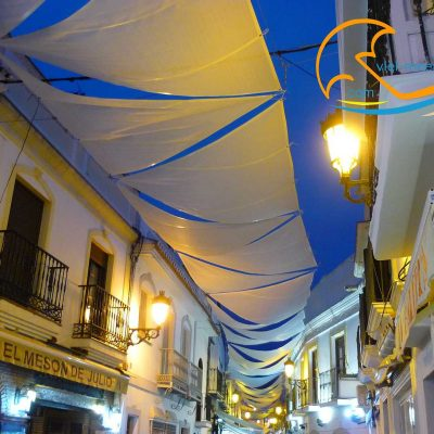 Nerja - Old town by night