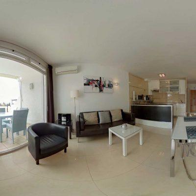 360° - Wohnzimmer/Sitting Room